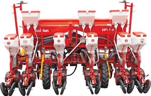 VPYT-DG6 - SINGLE TELESCOPIC - 6 ROWS DISC TYPE PRECISION PLANTER