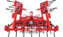 AYN-K SERIES FOLDABLE SEEDBED TINE HARROW COMBINATION