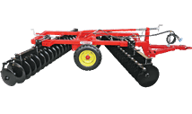 PGD-H CENTRAL WHEELS TRAILED DISC HARROW