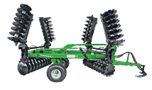 PGD-BK CENTRAL WHEELS TRAILED DISC HARROW (OFFSET TYPE)